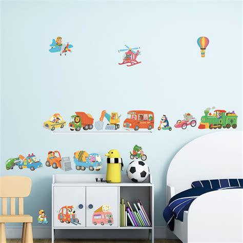 Auto Sticker Tiere by Wandsticker Auto Fahrzeuge Der Tiere Wandsticker Kinderzimmer