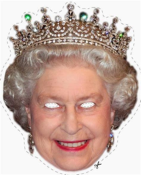 Printable Masks Queen | english royal family free printable masks oh my fiesta