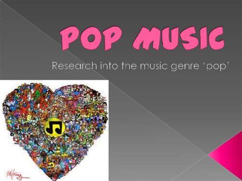 Pop Music Powerpoint Pop Powerpoint