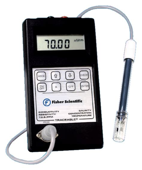 Fisherbrand Astm Thermometers Astm fisherbrand traceable conductivity resistivity and tds
