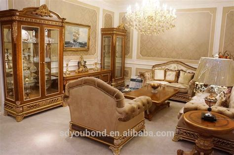 Wooden Showcases For Living Room by 2015 Luxury Living Room Showcase Design 0062 Antique