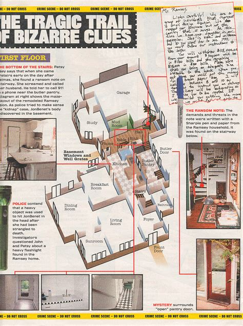 jonbenet ramsey house floor plan jonbenet ramsey case encyclopedia the house