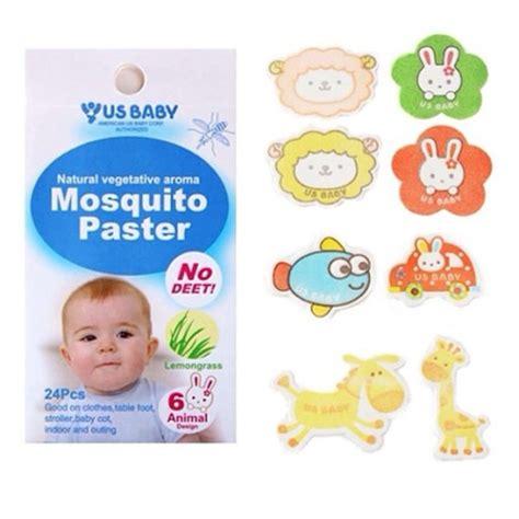 Us Baby Mosquito Paster Sticker Anti Nyamuk 24 Pcs usbaby mosquito paster sticker anti nyamuk mungsiji