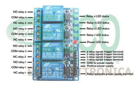 alimentazione esterna arduino shield per arduino con 4 rel 232 elettromeccanici bobina 5v