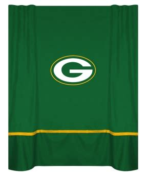 green bay packers shower curtain green bay packers shower curtain