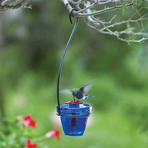 flower pot hummingbird feeder hanging hummingbirdhq com