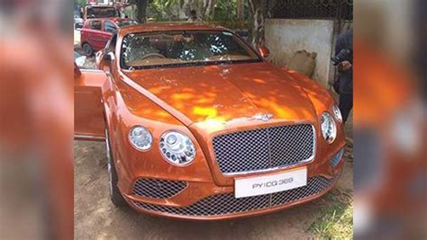 bentley kerala bentley continental gt owner pays rs 60 lakh for re