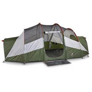 swiss gear 174 3 room 18x10 st bernhard dome tent