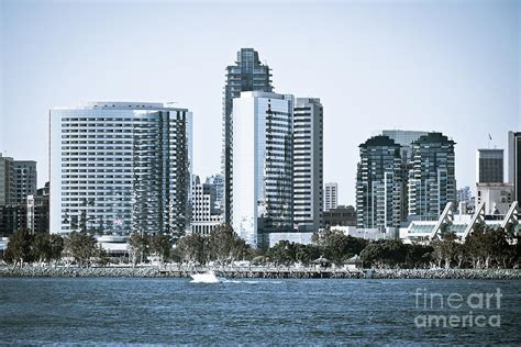san diego downtown waterfront buildings photograph by paul