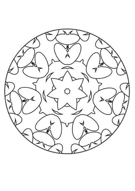 imagenes de mandalas rosas dibujos para colorear mandala flores y corazones es