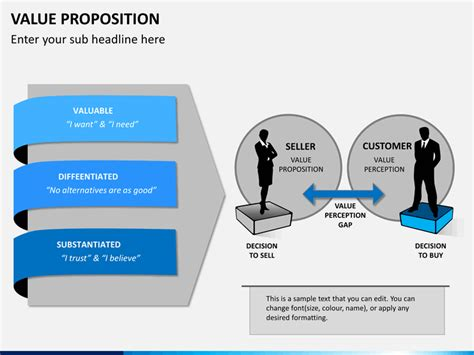 Value Proposition Powerpoint Template Sketchbubble Value Proposition Powerpoint Template