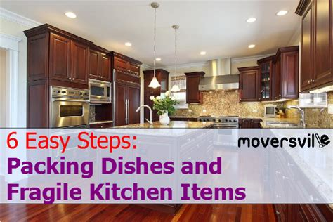 How To Pack Kitchen Stuff by Packing Dishes And Fragile Kitchen Items In 6 Easy Steps