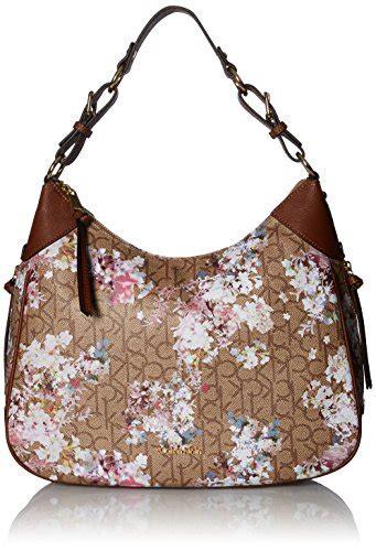 Calvin Klein Classic Monogram Hobo calvin klein hudson monogram hobo suddenly handbags