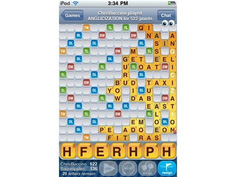 best scrabble move highest single move quot words with friends quot score world