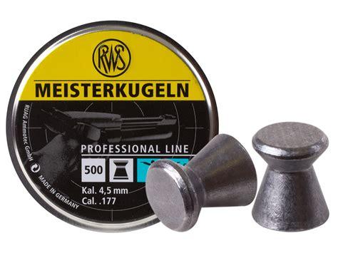 Mimis Rws Meisterkugeln Pellet Cal 177 4 5mm Germany rws meisterkugeln pistol 177 cal 7 0 grains wadcutter