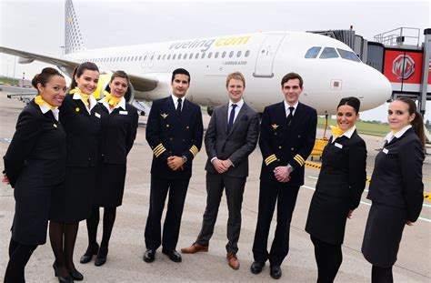 vueling cabin crew airline vueling launches from birmingham airport