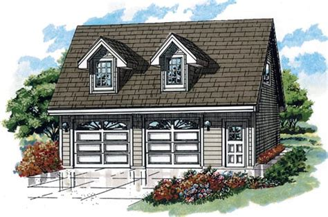 cape cod garage plans cape cod style house plans 588 square foot home 2 story 1 bedroom and 1 bath 2 garage