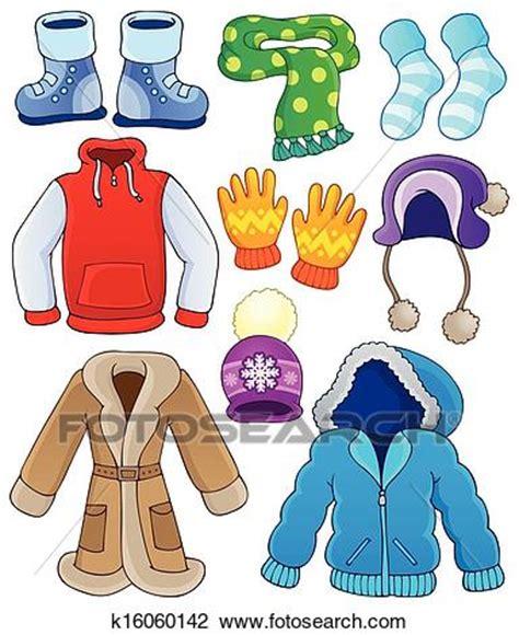 clipart inverno clipart roupas inverno cobran 231 a 3 k16060142 busca de