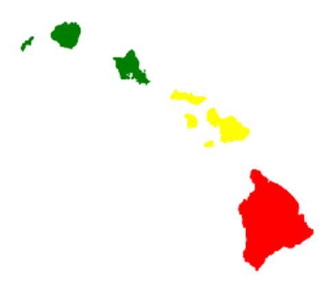 hawaiian island colors hawaiian stickers hawaiian island stickers