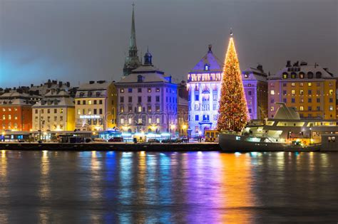 christmas in sweden photo in stockholm sweden stock photo image of skyline celebration 28359108