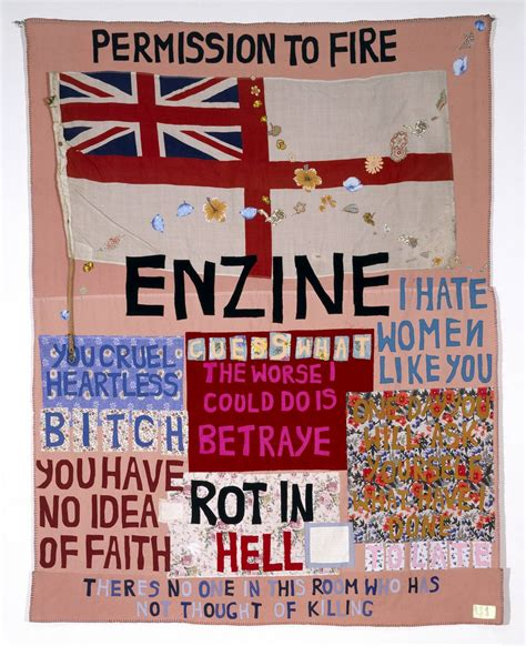 Tracey Emin Patchwork - and power can be a terrible thing tracey emin