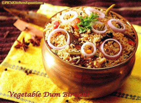 Guest Post : Vegetable Dum Biryani (Stove top/No oven method)   Smart Indian Women