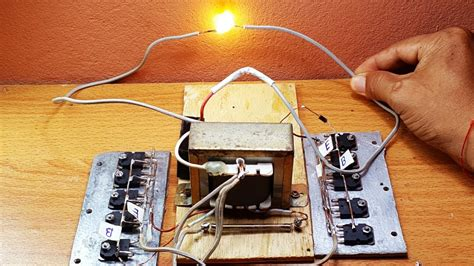 how to make high voltage by using 3a transformer and 10