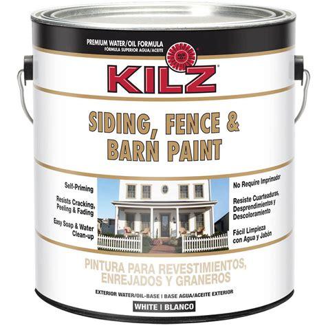 kilz select look interior exterior satin paint primer in one white 1 gallon walmart