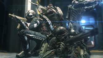 Advaned call of duty advanced warfare reveals four player co op