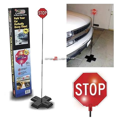 Garage Car Stopper garage parking stopper aid kit dash z racing