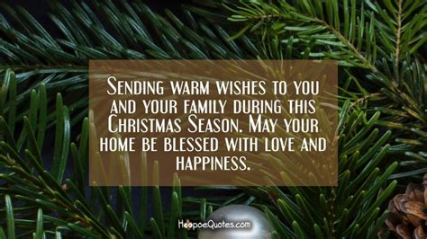 sending warm wishes     family   christmas season   home
