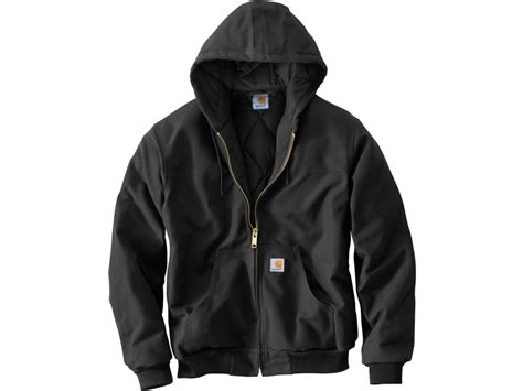 Carhartt Quilted Flannel Lined Duck Active Jacket by Carhartt S Quilted Flannel Lined Duck Active Jacket Cotton