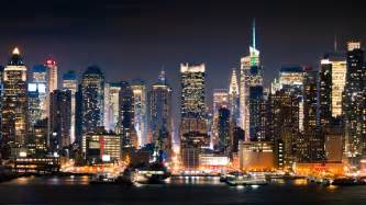 lights in ny manhattan hd wallpaper and background 2048x1152