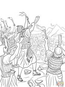 coloring pages gideon army collections