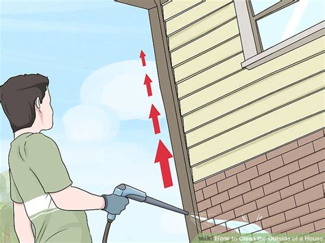 outside of a house 3 ways to clean the outside of a house wikihow
