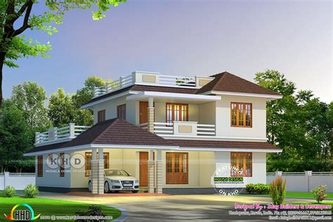 home design for 2017 best september 2017 kerala home design and floor plans