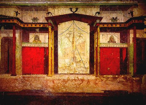 the room palatine the house of augustus room of the masks