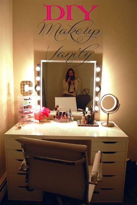 Handmade Makeup Vanity - 78 images about diy vanity area on makeup