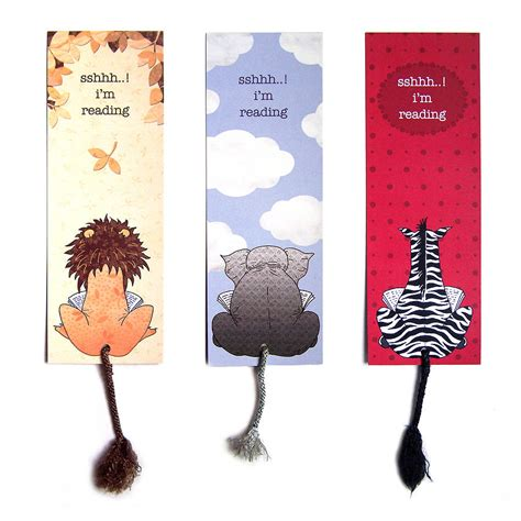 pictures of book marks intellectual animal bookmark by spinster