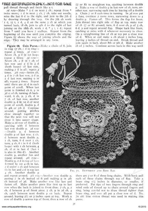 antique pattern library priscilla apl 6 ja025 priscilla irish crochet book no 2 page 33