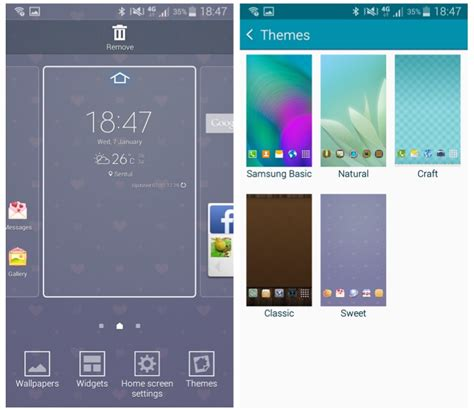 themes store galaxy a5 hands on samsung galaxy a5 the mid range phone with a