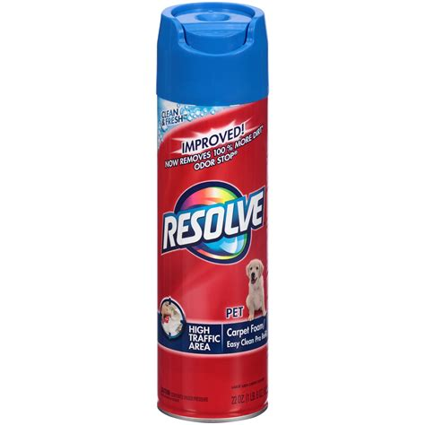 resolve rug cleaner resolve carpet and upholstery cleaner large area pet high traffic foam 22 oz 1 lb 5 9 oz 623 g
