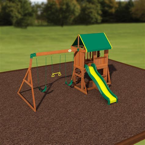 backyard somerset swing set somerset wooden swing set playsets backyard discovery