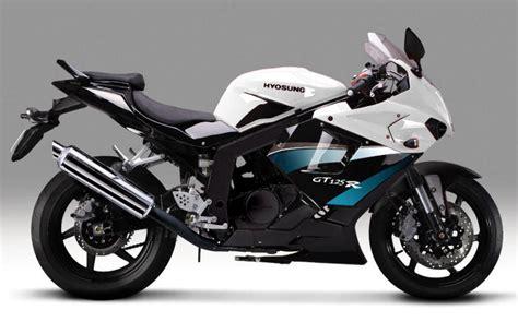 Lu Projie Gt 125 hyosung gt 125 r 2010 fiche moto motoplanete