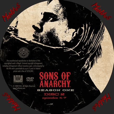 season 1 sons of anarchy covers box sk sons of anarchy season 1 high quality