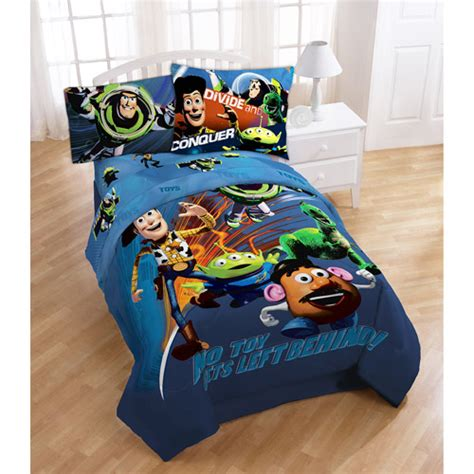 disney pixar toy story 3 twin full size comforter set