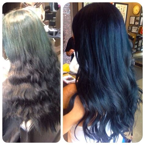 navy hair color 25 best ideas about navy blue hair dye on
