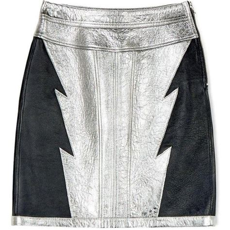 Diesel Leather Kotak Black Silver 1000 ideas about white leather skirt on