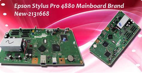 Mainboard Epson L1800 Asli Original original board epson motherboard for epson stylus pro 4880 part no 2131668
