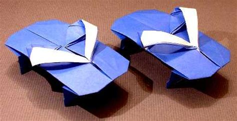 How To Make A Paper Shoe Step By Step - sandals kumasaka hiroshi gilad s origami page